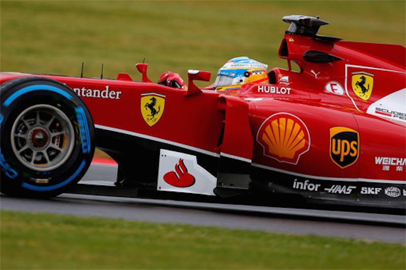 フェラーリ:天候に翻弄されQ1敗退 (F1イギリスGP 予選)