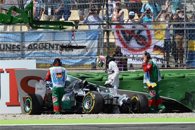 F1ドイツGP 予選:ニコ・ロズベルグがポールポジション