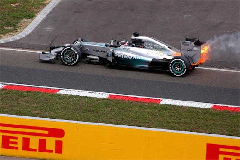 F1ハンガリーGP 予選:ニコ・ロズベルグがポールポジション