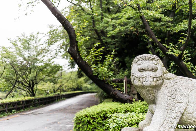 韓国の狛犬