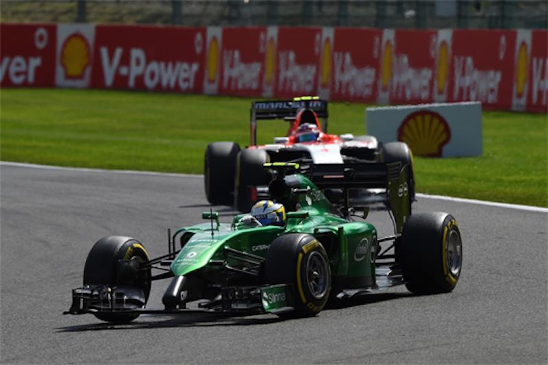 ケータハム:アンドレ・ロッテラーはリタイア (F1ベルギーGP)
