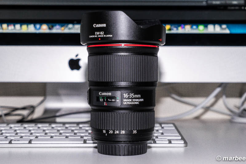 EF16-35mm F4 IS USM 衝動買い