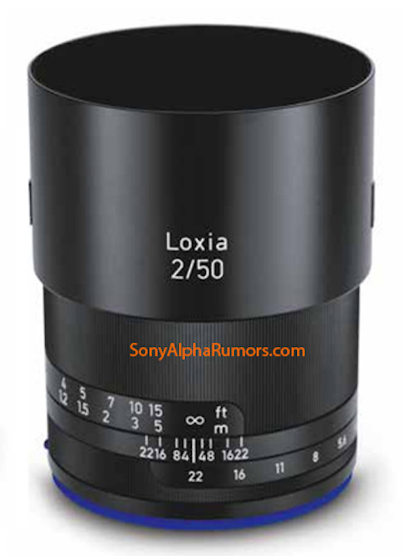 Zeiss Loxia 50mm F2.0 Planar