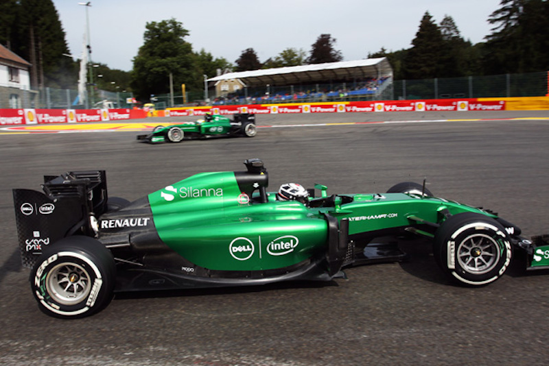 F1 2014 ベルギー FP1