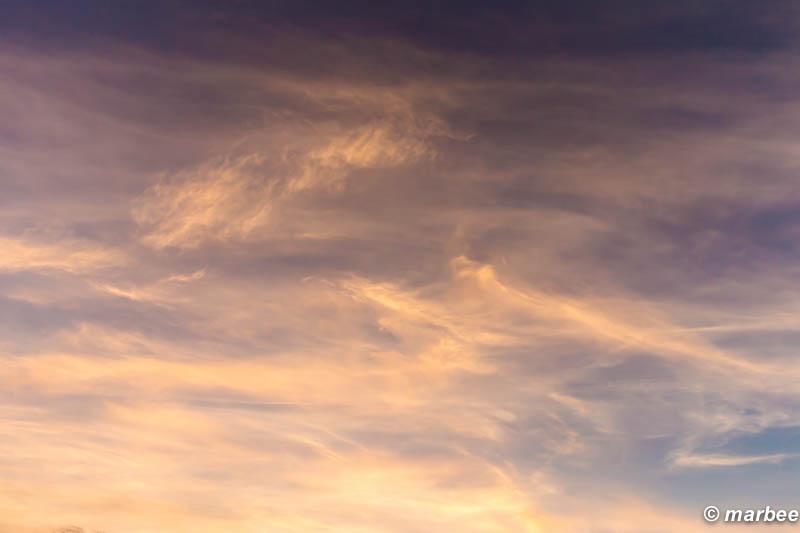 朝と夜の間 空の上がまだ夜 下はもう朝 真ん中が朝でも夜でも無い空