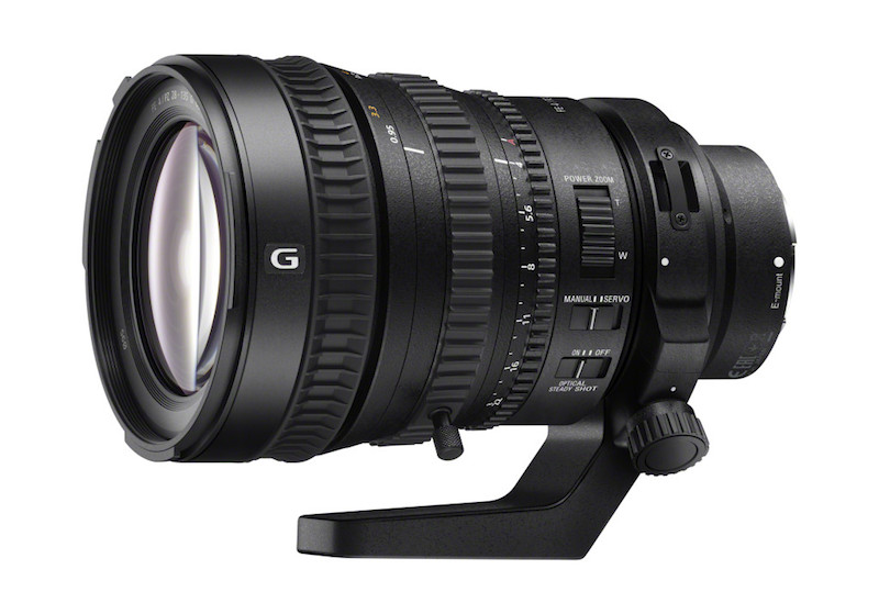 SONY 28-135mm FE powerzoom 海外発表