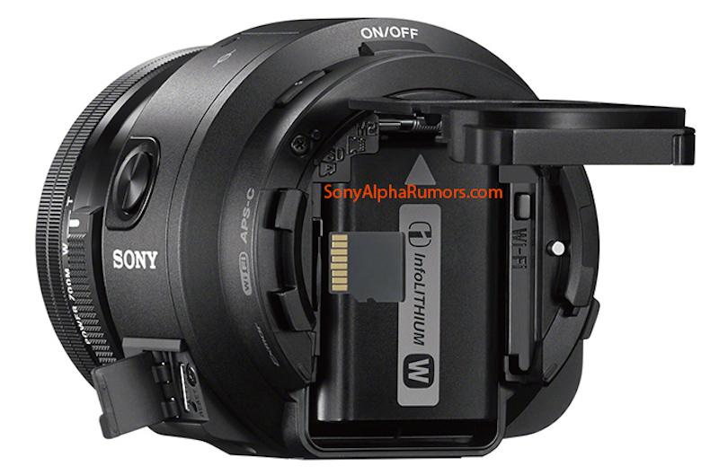 SONY QX1 Eマウントカメラ 背面画像