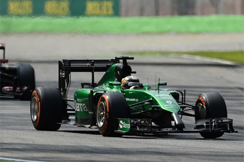 F1 2014 イタリア 決勝 可夢偉が乗ればケータハムはマルシャに勝てる