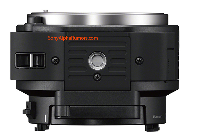 SONY QX1 Eマウントカメラ 底面 流出画像