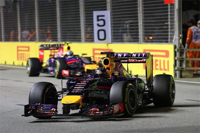 F1 2014 シンガポール 決勝