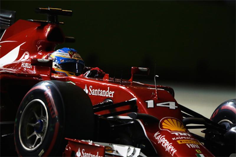 F1 2014 シンガポール 予選