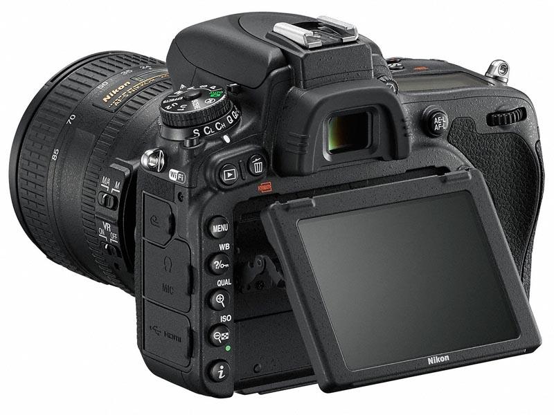 Nikon D750 背面