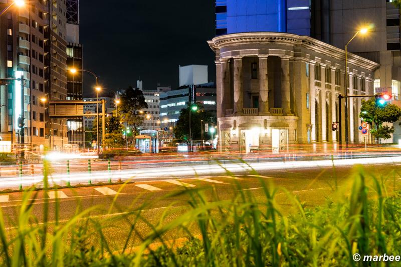横浜の夜景 元第一銀行横浜支店の建物