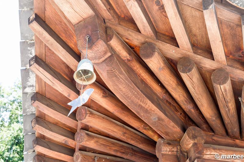 韓国庭園 韓国も木造建築なんですね