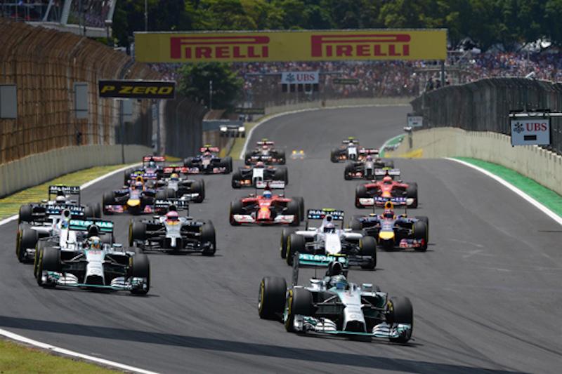 F1 2014 ブラジル 決勝