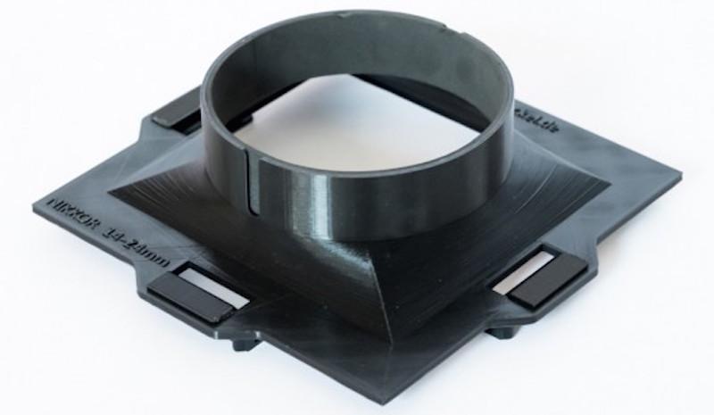3Dプリンタで自作 AF-S NIKKOR 14-24mm f:2.8G ED フィルタアタッチメント1