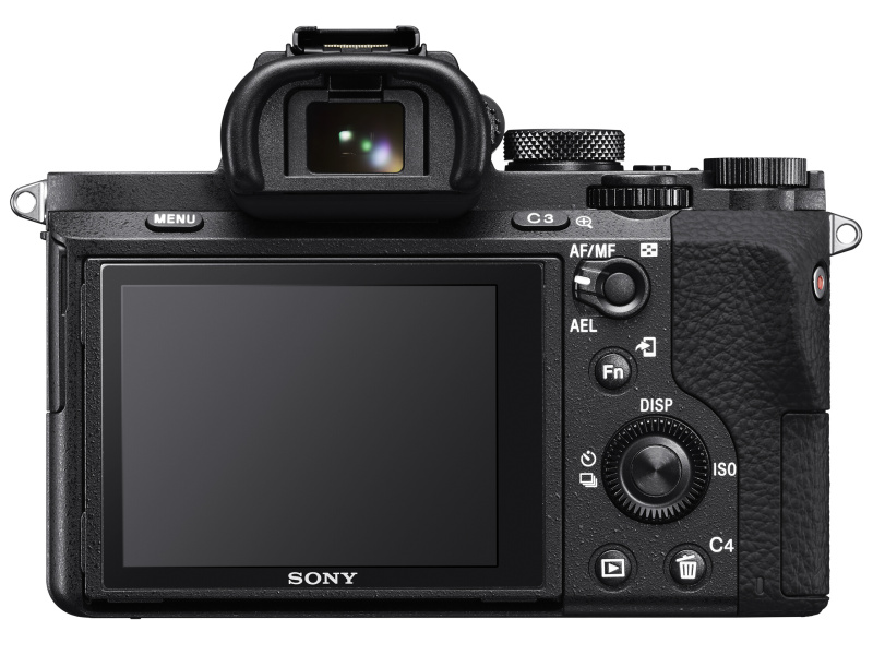 SONY α7Ⅱ 背面