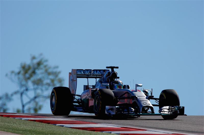 F1 2014 アメリカ FP2