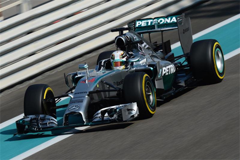 F1 2014 アブダビ FP1