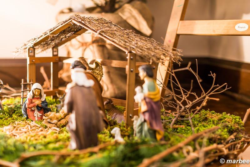 クリスマス イエス・キリストの誕生ジオラマ