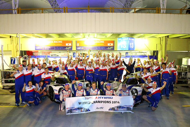 トヨタ、日本メーカー初となる世界選手権レースで年間タイトル獲得