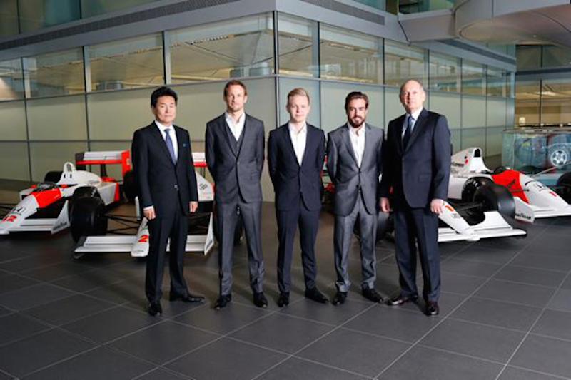 F1 2015 マクラーレンはアロンソとバトン