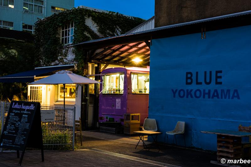 横浜のマジックアワー BLUE YOKOHAMA