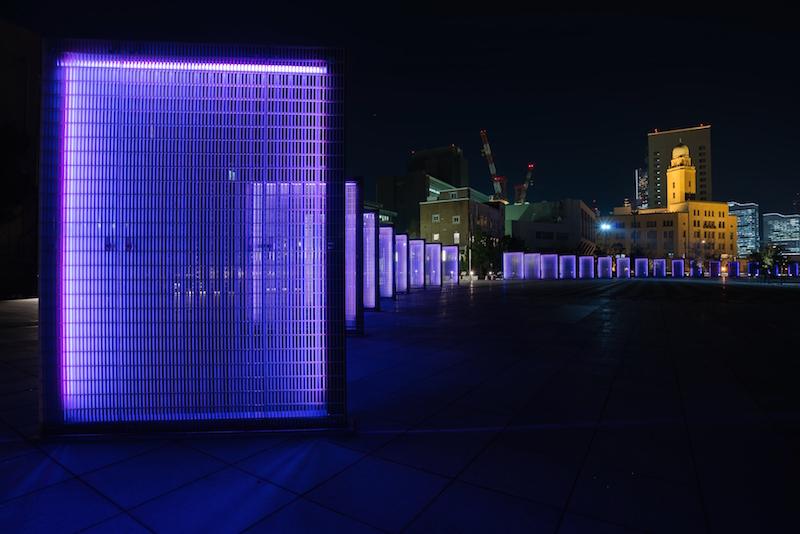 [横浜]象の鼻パークの夜景