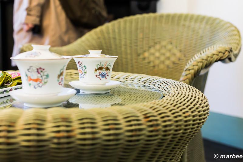 ティータイム 週の初めはお茶でも飲んでゆっくりと