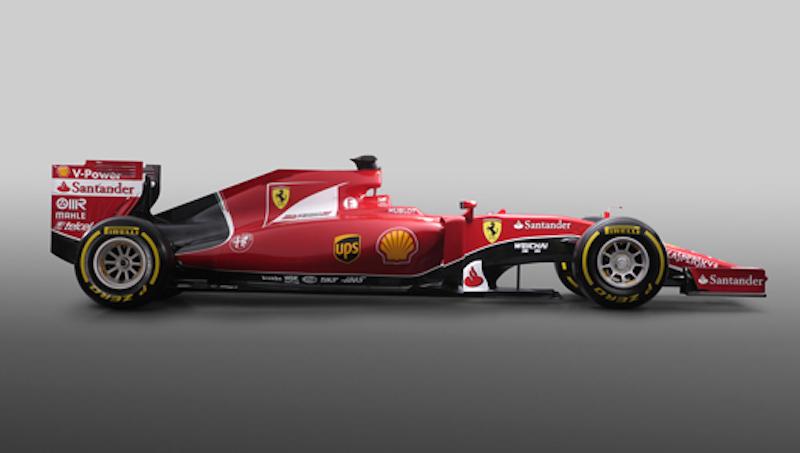フェラーリ SF15-T 側面
