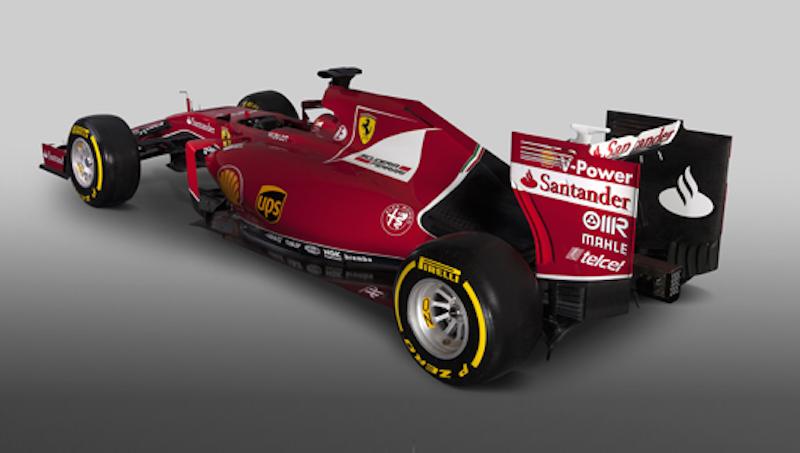 フェラーリ SF15-T 後面