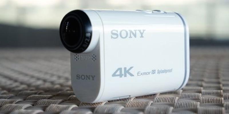 SONY 4Kアクションカム リーク画像
