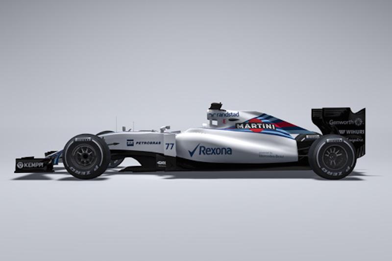 ウィリアムズ FW37側面