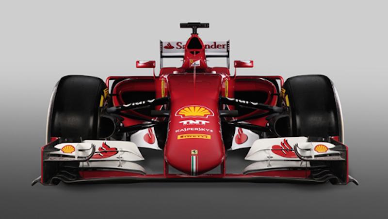 フェラーリ SF15-T 正面