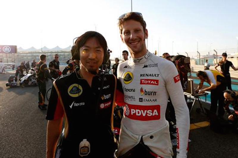 小松礼雄が、2015年シーズンからロータスのチーフエンジニアに昇格した。