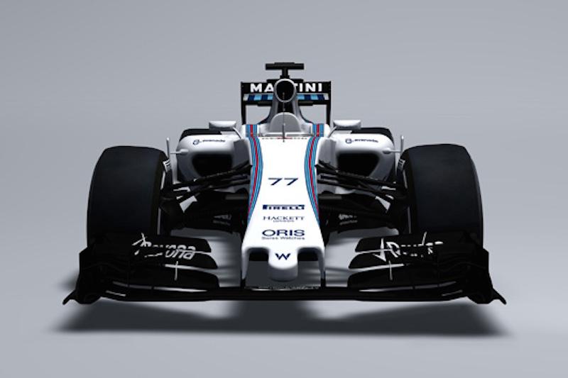 ウィリアムズ FW37 正面