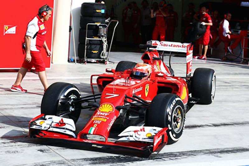 フェラーリ、2015年F1マシンでもプルロッド式サスペンションを継続