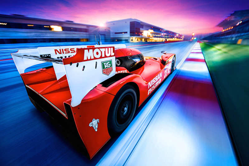 Nissan GT-R LM NISMO 背面