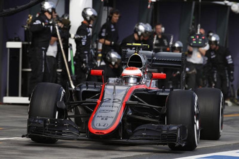 マクラーレン・ホンダ:ジェンソン・バトンが11位完走 : F1オーストラリアGP