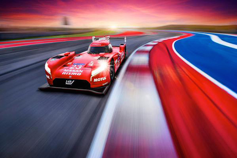 Nissan GT-R LM NISMO 正面