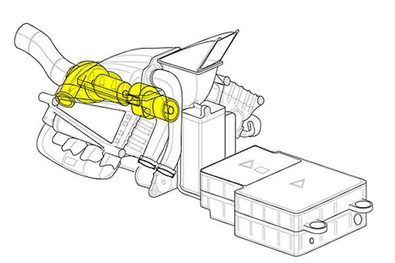 F1 ホンダパワーユニット 構造