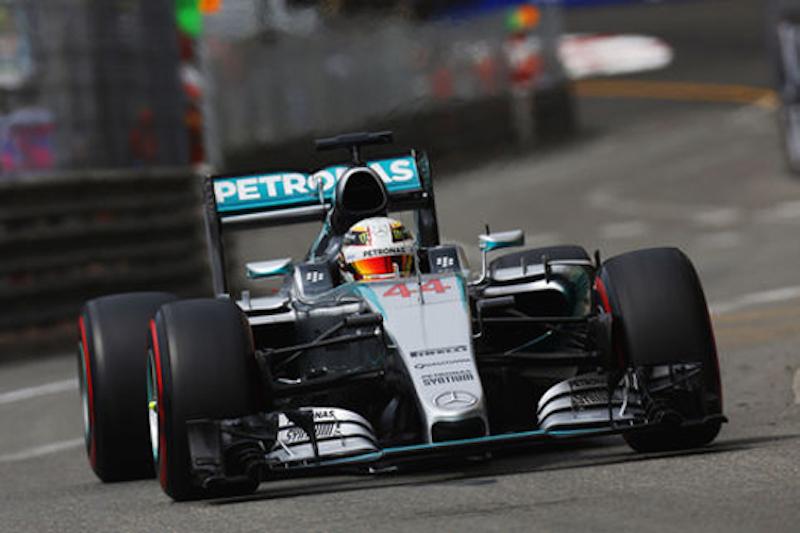 F1モナコGP 予選:ルイス・ハミルトンがポールポジション
