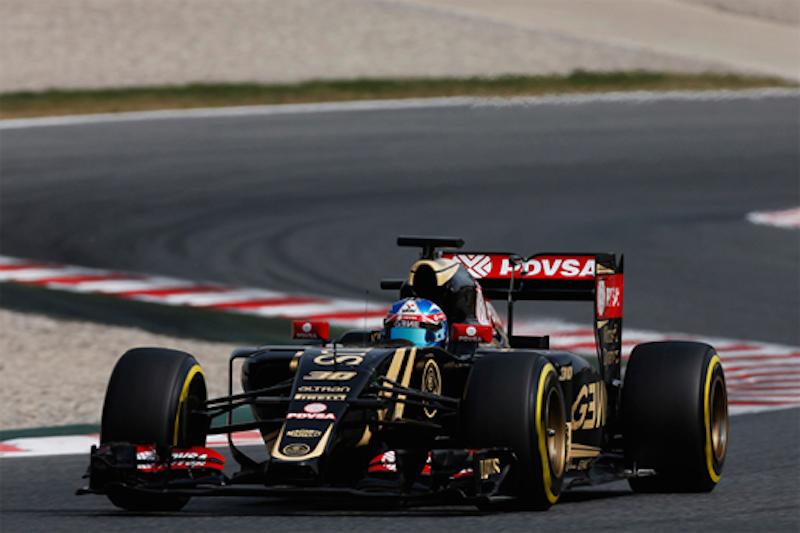 F1 バルセロナ インシーズンテスト 2日目:ジョリオン・パーマーがトップ