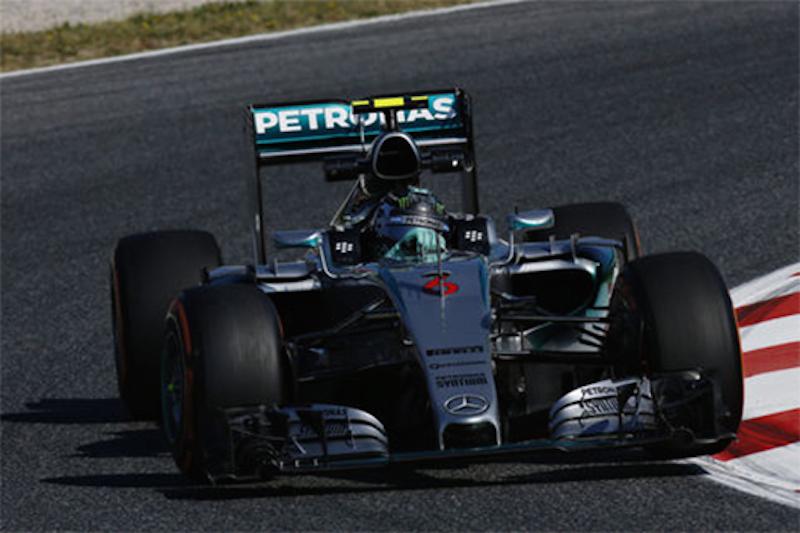 F1スペインGP フリー走行1回目:ニコ・ロズベルグがトップタイム