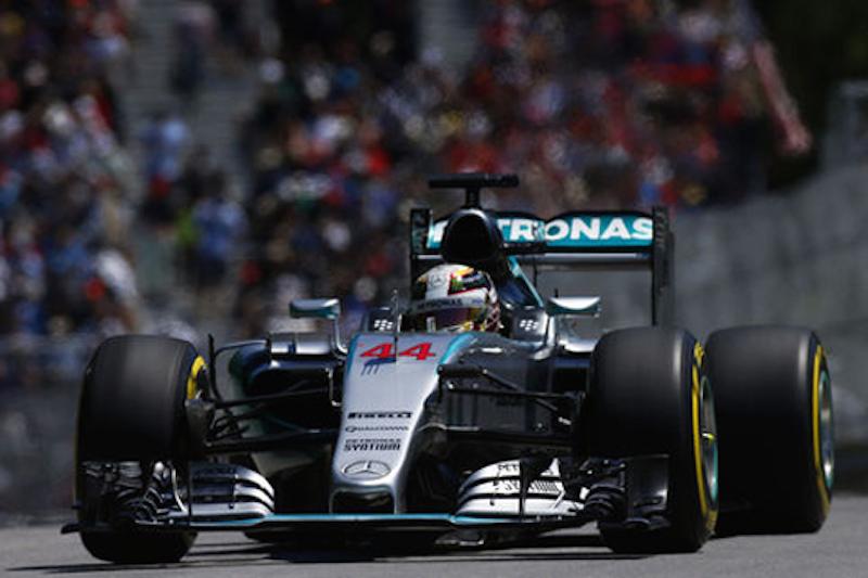 F1カナダGP 予選:ルイス・ハミルトンがポールポジション