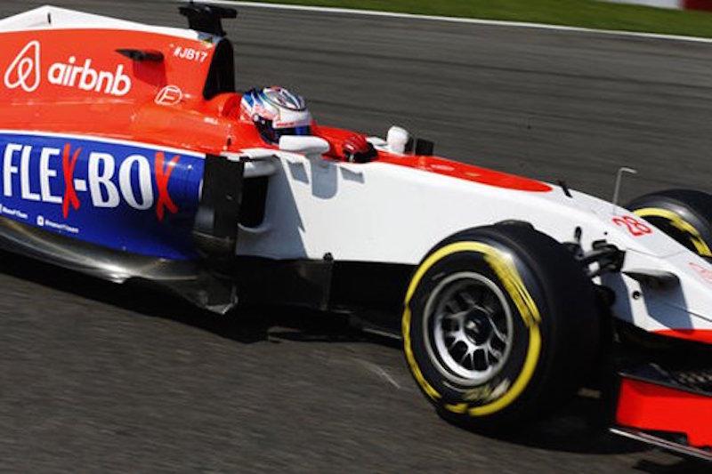 F1 2015 ベルギー 予選 マルシャ 新しいスポンサー