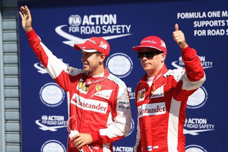 フェラーリ:キミ・ライコネンが2番グリッド獲得 : F1イタリアGP 予選
