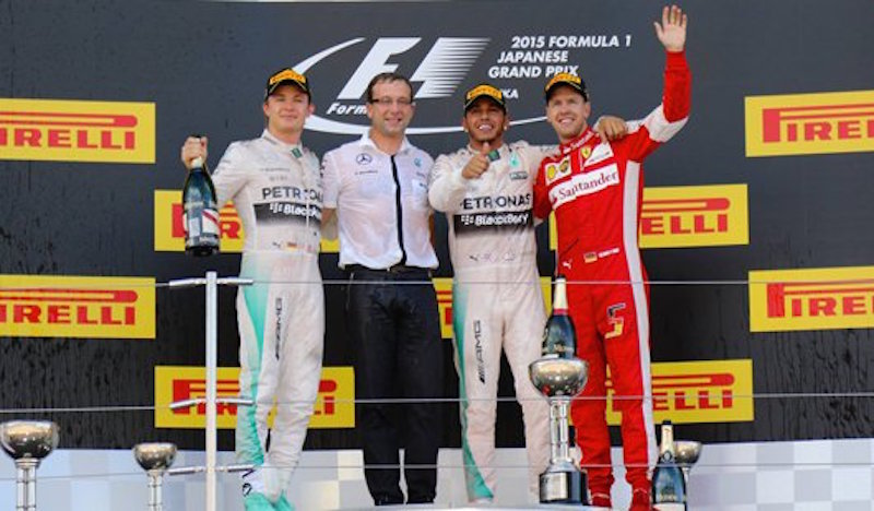 F1 2015 日本 決勝
