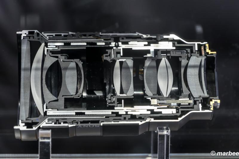 FE 24-70mm F2.8 GM(SEL2470GM) カットモデル