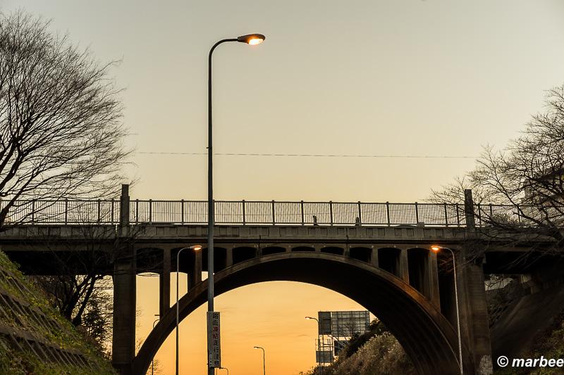 夕焼けの響橋 さあ家に帰ろう